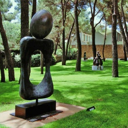Fondation Maeght à Saint-Paul de Vence